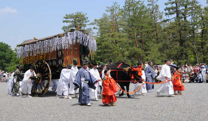 Decorated Ox Cart