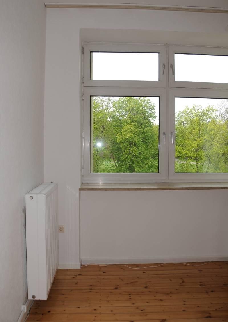 an empty room