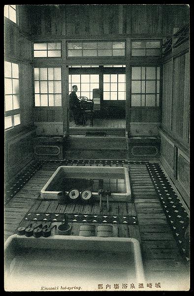 Kinosaki onsen in 1910