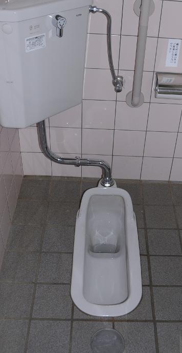 squat toilet in Japan