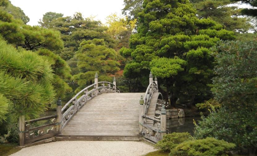 Keyakibridge in Oikeniwa Garden