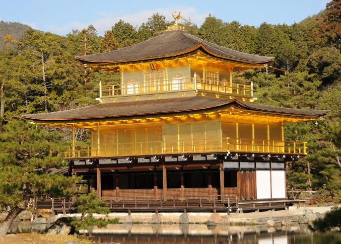 Kinkaku-ji closeup