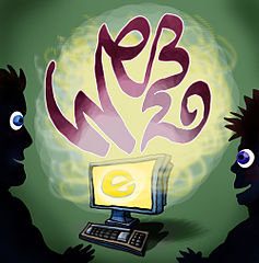 "cartoon ""generation web 2.0"" by Peter Welleman"