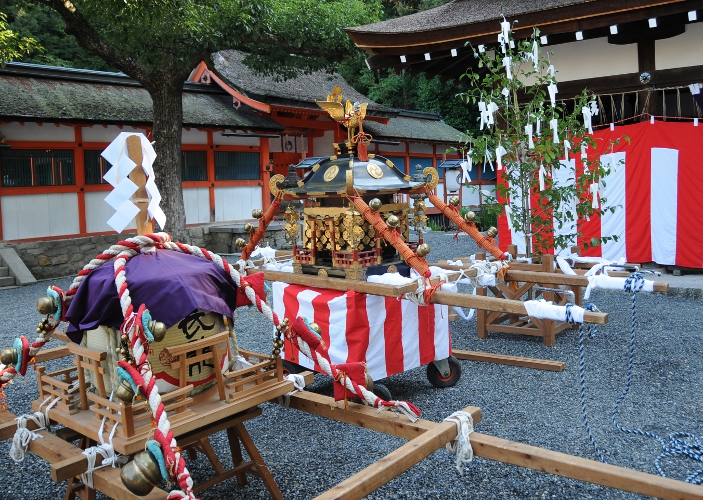 Mikoshi of Yoshida shrine