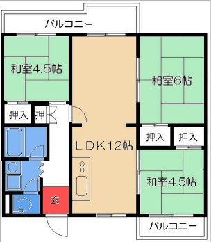 Layout of my apartment