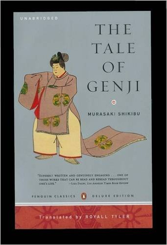 "cover of ""The Tale of Genji"""