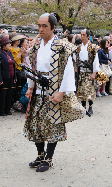 first in line: samurai