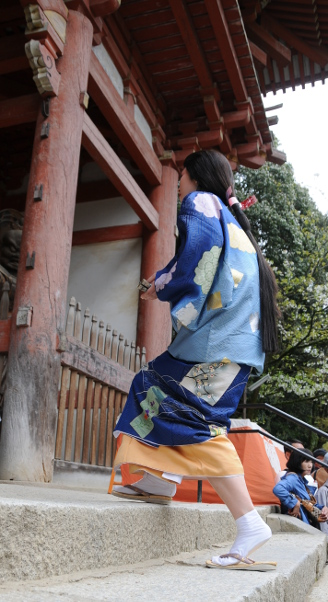entering through the niomon gate