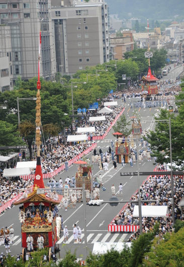 Gion matsuri Saki parade - Naginata hoko and 4 more