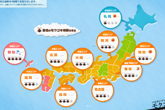 cockroach forecast Japan