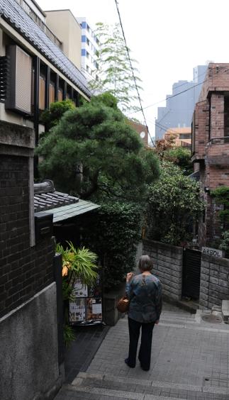 Kagurazaka back street