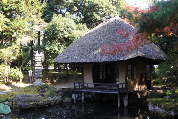 Teahouse in Hakusasonso
