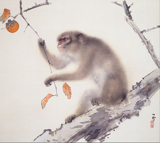 Monkey by Hashimoto Kansetsu