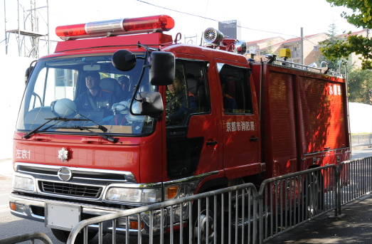 Kyoto fire engine