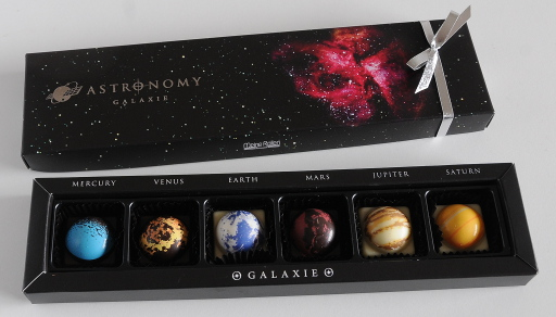 Valentine's chocolate galaxy