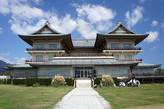 Old Otsu Hotel at Lake Biwa