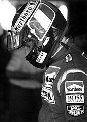 Gerhard Berger in 1991