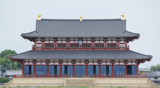 Former Imperial Audience Hall at Heijo Palace