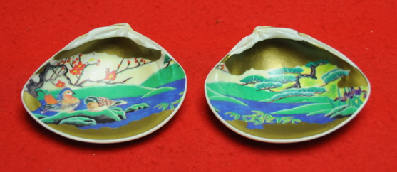 Inside of kai awase shells