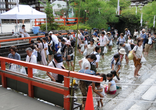 Mitarashi festival at Shimogamo Shrine