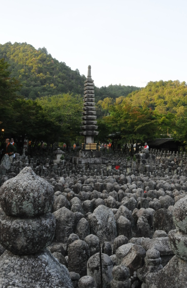 8000 Monuments at Adashino Nenbutsu-ji