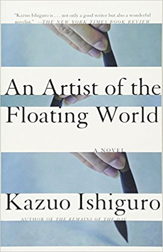 cover of artist of the floating world