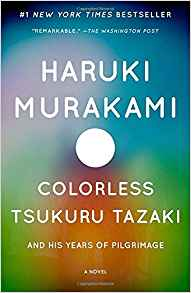 Cover of Colorless Tsukuru Tazaki