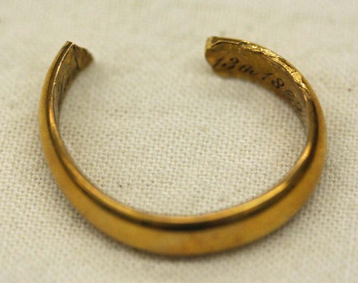 Destroyed Wedding Ring