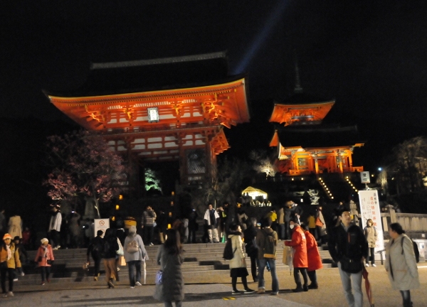 Kiyomizudera Temple during Hanatouro 18