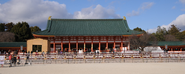 Heian Shrine Main Hall