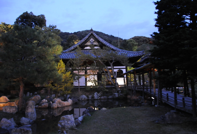 Kodaiji in the night
