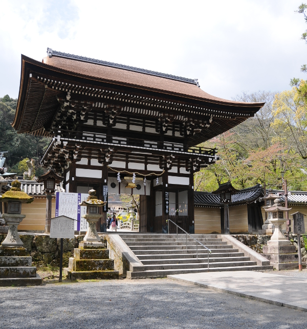Romon Gate of Matsunoo Taisha in Kyoto