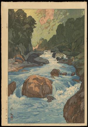 Yoshida Hiroshi - Kurobe River