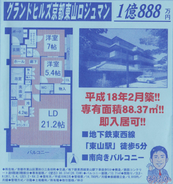 2 million apartment