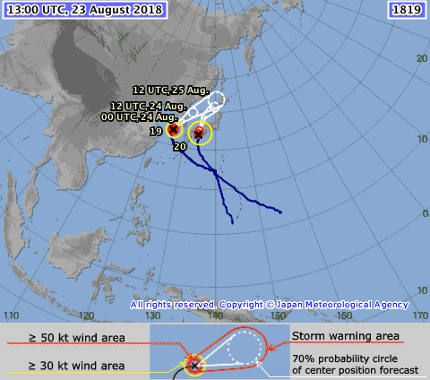 Typhoons 19 and 20, 2018