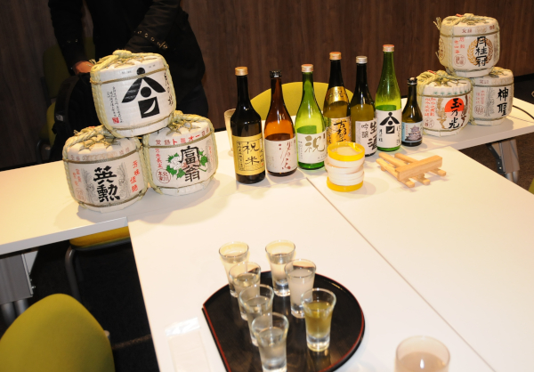 7 kinds of sake