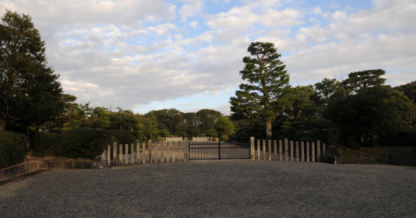 Entrance to the Tomb of the Meiji Emperor