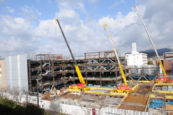 Construction Site next door
