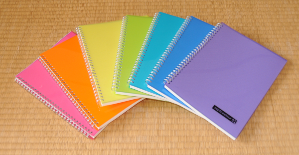 Septcouleur Japanese Notebooks