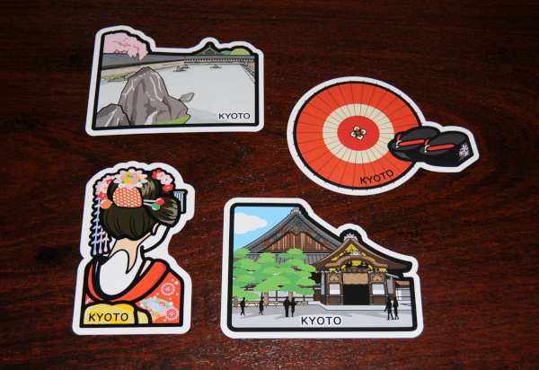 Gotoji Formcards from Kyoto