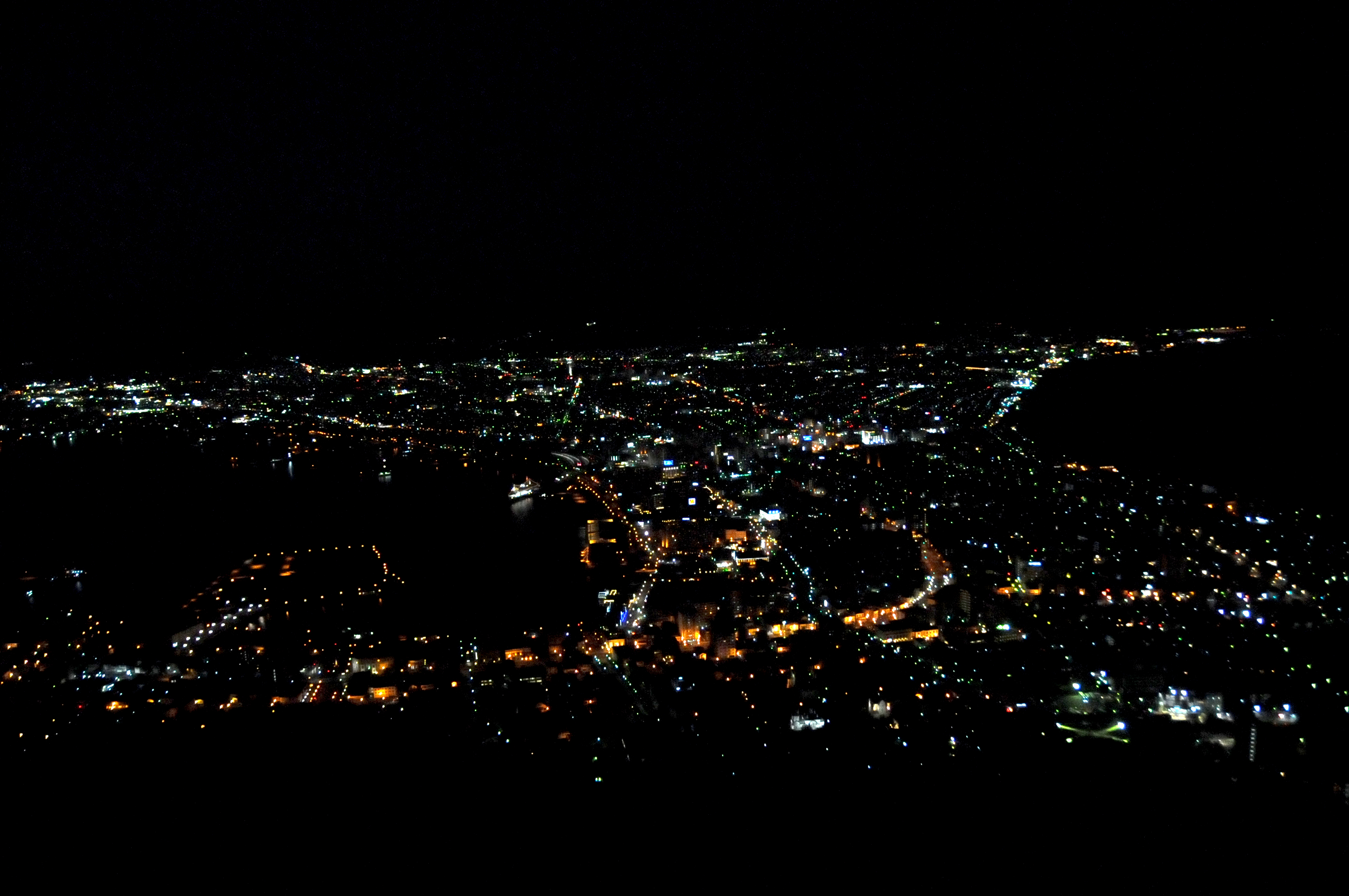 Night View over Hakodate