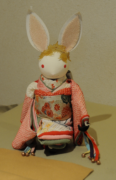 An affordable shibori kimono.
