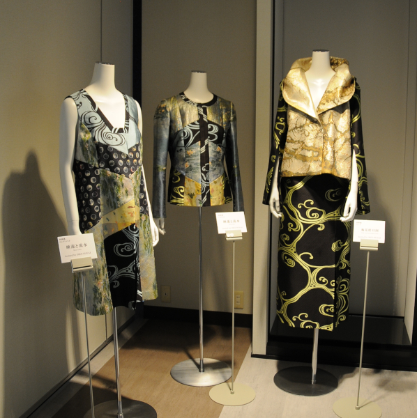 Clothing with Nishijin Fabric