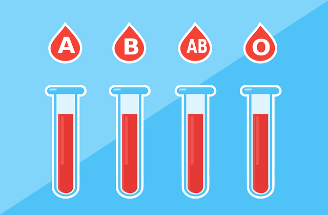 blood types by 200 degrees on pixabay