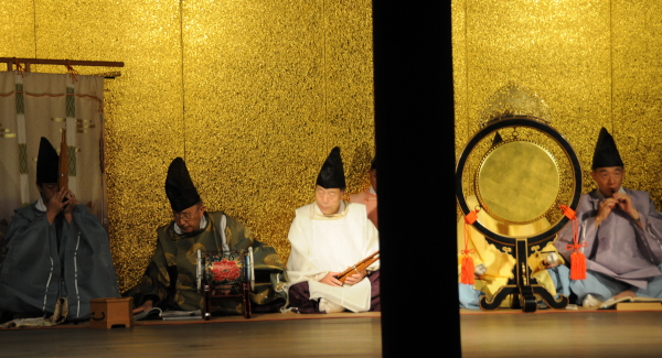 Gagaku Musicians