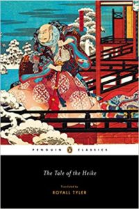 "cover image of ""The Tale of the Heike""."