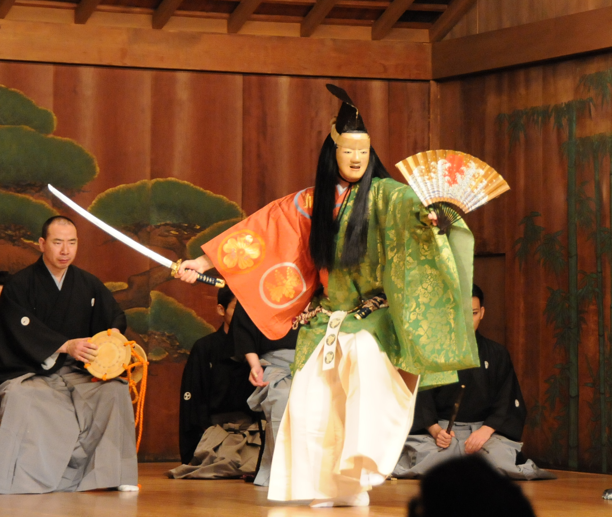 kiyotsune fights his last battle in the afterworld