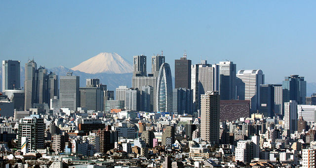 """Skyscrapers of Shinjuku 2009 January"" by Morio"