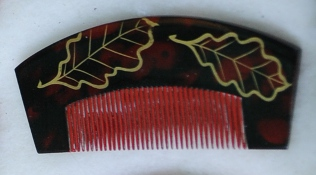 a Japanese comb