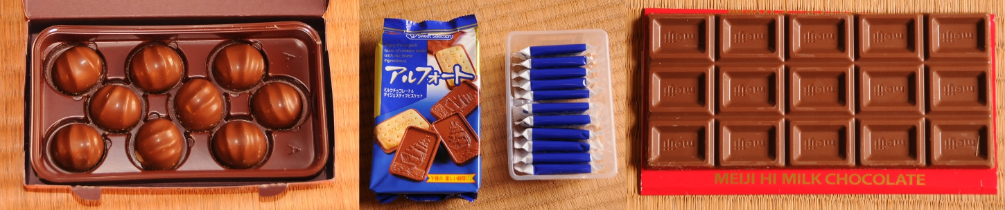 odd numbers of chocolate